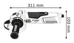 Bosch GWS 19-125 CI
