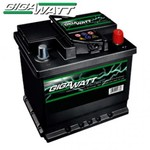 Gigawatt 45 Ah, 12V, JIS, L+ - безплатна доставка за гр.София